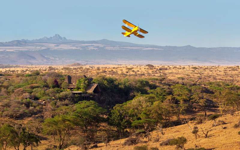 fly kenya private scenic flights lewa